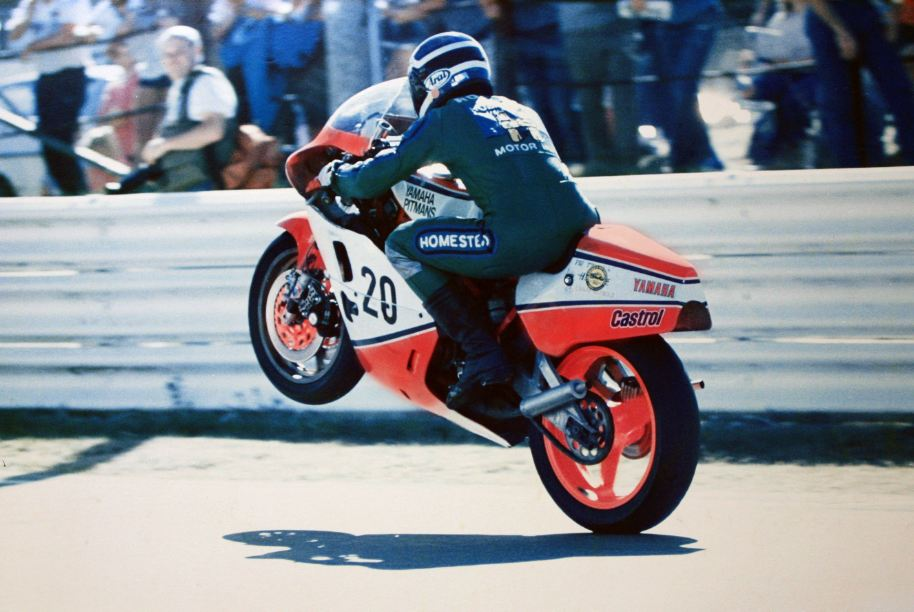 Lee At Bathust 1978 on the Pitmans TZ750F
