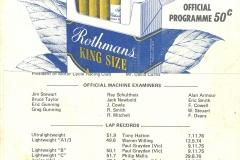 1977 Oran Park Raceway Booklet