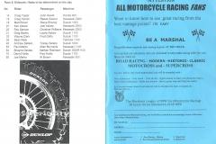 1999 Neapean Raceway Booklet